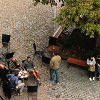 Кафе у каштана :: Elen Dol