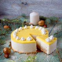 Рисовый торт с ананасами и персиками. :: Наталья Майорова