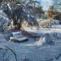 Занесённая снегом 2. :: Василий Ярославцев
