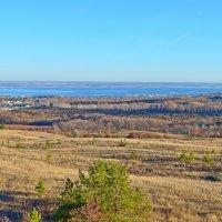 Хвалынские холмы, Волга :: Татьяна