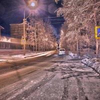 Ночная улица. :: Алексей Хаустов