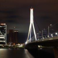 Вантовый мост (вид с набережной) - Рига 2015 :: Олег Синькевич