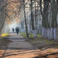 Любимый город в синей дымке тает ... :: Владимир