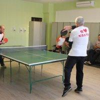 На соревнованиях по настольному теннису :: Дарья Малькова