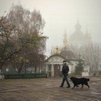 Андреевская в тумане. :: Gamza ..