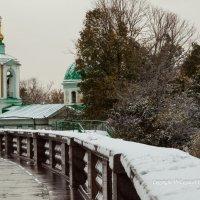 Смотровая площадка на Воробьевых горах :: Владислав Лопатов