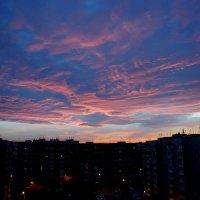 Закат 22,11,2015 г. Краснодар :: ~ Елена М ~