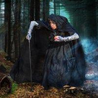 Старушка и яблоко. По мотивам Знаменитой сказки. :: Виктор Седов