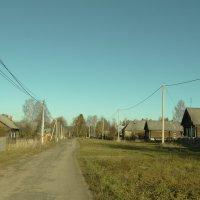 центральная улица деревни Каплино. :: Михаил Жуковский