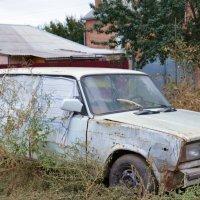 В гараже не хватает мне места(( :: Наталья Мельникова