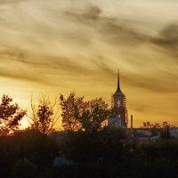 Закат в Ельце. :: Ирина Нафаня