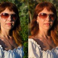 Ретушь женского портрета :: Александр Ивашков