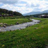 Горная река (гора Иремель) :: Сергей Николаевич