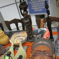 Африканская ритуальная маска :: Дмитрий Никитин