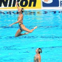 синхронное плавание :: Гульнар Еналеева