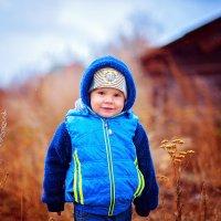 Даня в деревне :: Евгения Клепинина