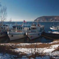 Приглашаем на Байкал,всех прокатим по волнам... :: Александр Попов