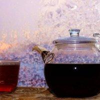 Чай в морозный вечер :: Сергей Чиняев