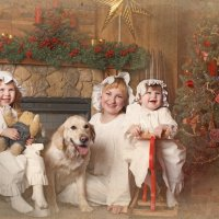 Новогодняя открытка :: Анна Дроздова