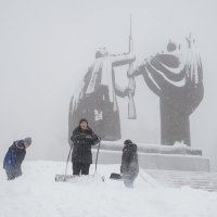 Снегопад :: Vladimir Beloborodov