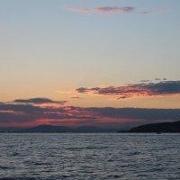 Закат над чёрным морем :: Alena Andreena