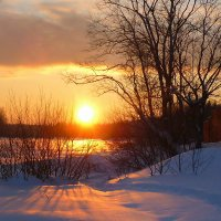 О зимнем закате :: Павлова Татьяна Павлова