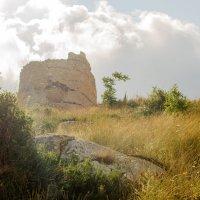 Руины генуэзской крепости Чембало в Балаклаве :: Александр Ивашков
