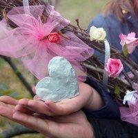 Розовая свадьба * оловянная :: Райская птица Бородина