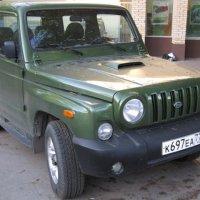 Джип зеленый КИА :: Дмитрий Никитин