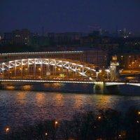 Часть Большеохтинского моста :: Валентина Папилова
