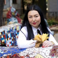 в мозаичном дворике :: Екатерина Жукова