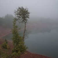 Над озером туман :: Анатолий