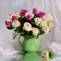 ...безупречная нежная роза... :: Валентина Колова