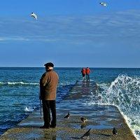 вдыхая моря аромат :: Александр Корчемный