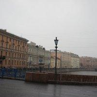 Синий мост через Мойку :: Елена Павлова (Смолова)