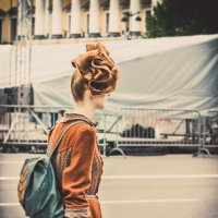 Hairstyle, dress, St. Petersburg. :: Илья В.
