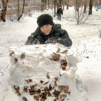 Снежный ком. :: Sergey Serebrykov