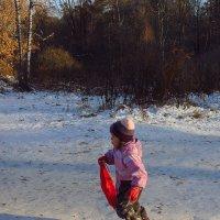 Дети, в отличие от правительства, всегда готовы к приходу зимы :: Андрей Лукьянов