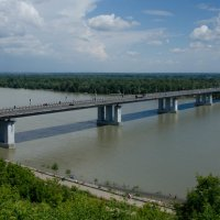 Мост через Обь :: Михаил Кузнецов
