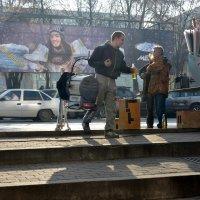 Уличные сценки 2/4 :: Асылбек Айманов