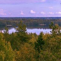 Вид с горы Сампо. :: Андрей Князев