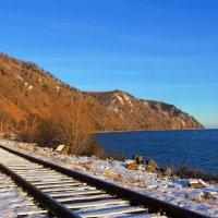 Кругобайкальская железная дорога :: Анатолий Иргл