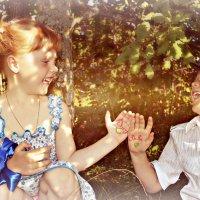 Детская дружба это самое чистое и светлое время в нашей жизни :: Ирина Жеребятьева