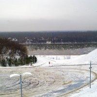 Вроде зима началась, а ледоход как весной :: Владимир Ростовский