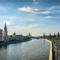 Вид с Большого Москворецкого моста. :: Константин Ушмаев