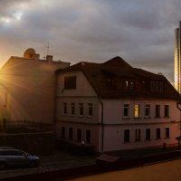 Sun reflections in the city :: Николай Н