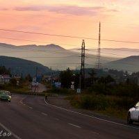 Уральские горы на рассвете :: Anatoliy Pavlov