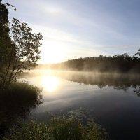 Закат на реке :: Макс Манаков