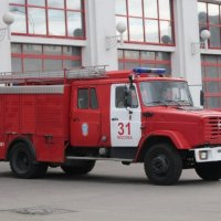 ЗИЛ пожарный :: Дмитрий Никитин