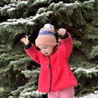 Ура! Первый снег!!! :: Мария Климова